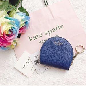 BNWT Kate Spade half moon wallet coin purse